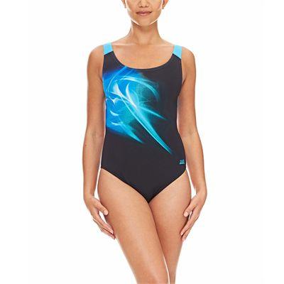 Zoggs Solar Speedback Ladies Swimsuit - Front