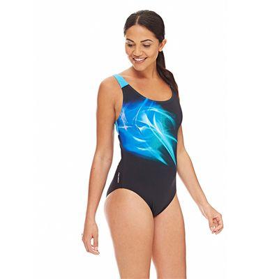 Zoggs Solar Speedback Ladies Swimsuit - Side