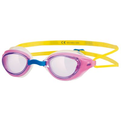 Zoggs Sonic Air Junior Swimming Goggles-Pink