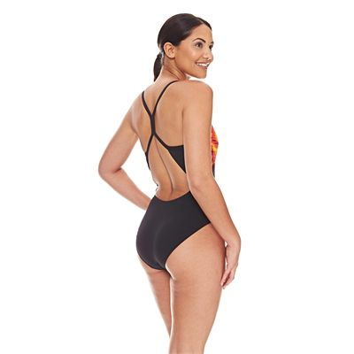 Zoggs Space Sprintback Ladies Swimsuit - Back