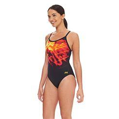 Zoggs Space Sprintback Ladies Swimsuit