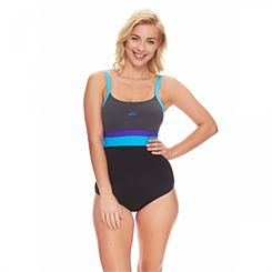 Zoggs St Kilda Scoop Crossback Ladies Swimsuit