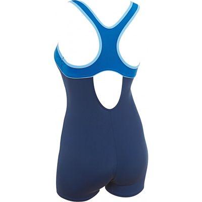 Zoggs Torquay Ladies Legsuit - Costume Back