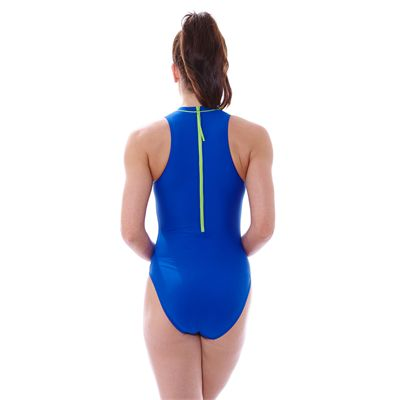 Zoggs Tuncurry Hi Neck Ladies Swimsuit-Back