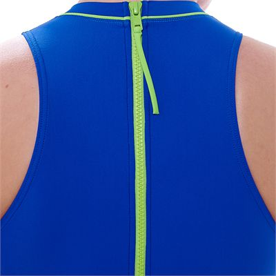 Zoggs Tuncurry Hi Neck Ladies Swimsuit-Zip