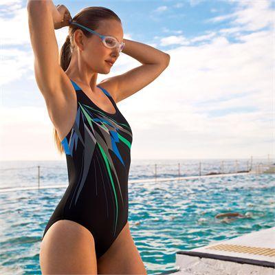 Zoggs Wandina Speedback Ladies Swimsuit - model