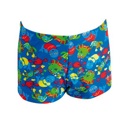 Zoggs Zoggy Infant Boys Hip Racer - Back View