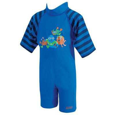 Zoggs Zoggy Sun Protection One Piece Suit Blue