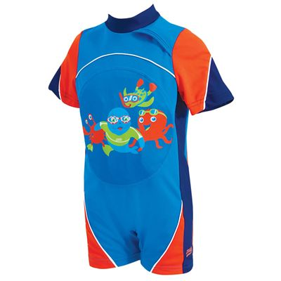 Zoggs Zoggy Swimfree Blue Floatsuit