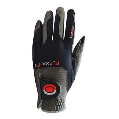 Zoom Gloves Weather Options Mens Golf Gloves - Black/Red
