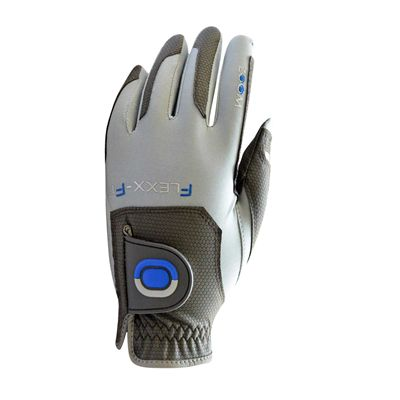 Zoom Gloves Weather Options Mens Golf Gloves - Silver/Blue