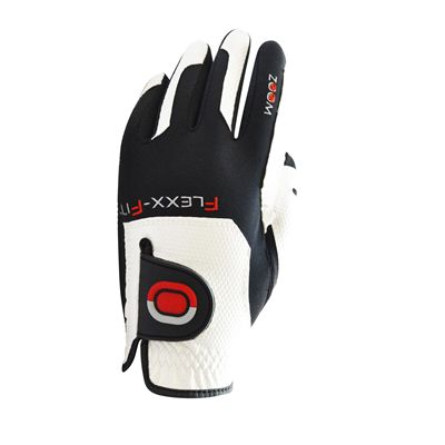 Zoom Gloves Weather Options Mens Golf Gloves - White